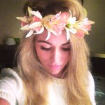 Flower Crown Peaches and Cream - HFL127