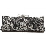 Black Hard Shell Evening Bag  - EBA012