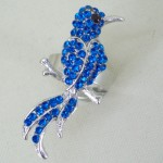 Bird of Paradise Ring Blue - BIR002