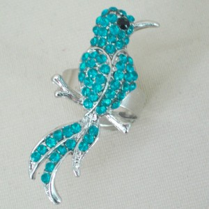 Bird of Paradise Ring Turquoise - BIR006