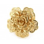 Luxury Filigree Rose Ring - RIN009