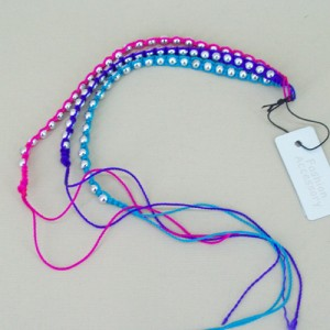 Friendship Bracelet 3 Pack Pink and Purple - FRD002