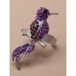 Bird of Paradise Ring Purple - BIR003