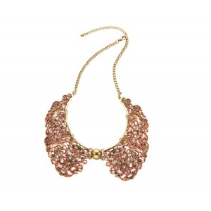 Red Lace Collar Necklace - COL002