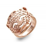 Rose Gold Cheetah Ring - RIN003