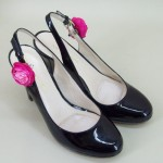 Shoe Clips Pink Flower - SHO006