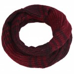 Merlot Red Sequin Snood - SNO010
