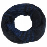Navy Blue Sequin Snood - SNO009