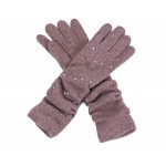 Slouch Gloves Rose Diamante - GLO007