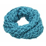 Two Tone Snood Aqua - SNO006