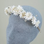 Hippie Chick Hairband Small Daisies - ABC012a