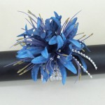 Blue Nerine Orchid Wrist Corsage - WCOR023