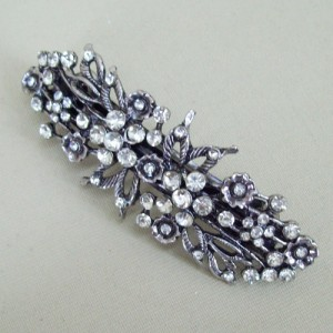 Grace Vintage Diamante Hair Slide - 020T
