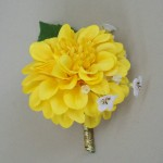 Yellow Buttonhole Sunshine Paradise - ADEC01a